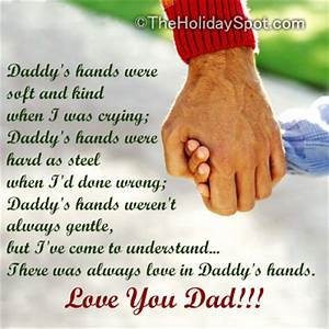 Poems On Fathers Day And Dads 92586 - QuotesNew.com