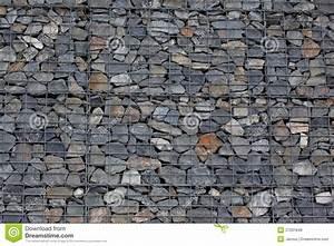 Mur En Gabion : mur de gabion photos libres de droits image 27031848 ~ Premium-room.com Idées de Décoration