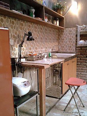 [diy Weekend Project] Cara Membuat Meja Dapur Gaya Bar