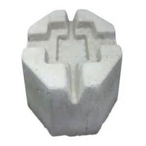 6 in x 10 in x 10 in precast concrete pier block 709537
