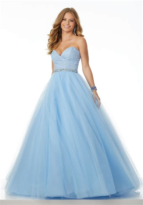 Light up the room with your smile in Mori Lee 42034. This ...