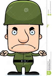 Angry Soldier Cartoon