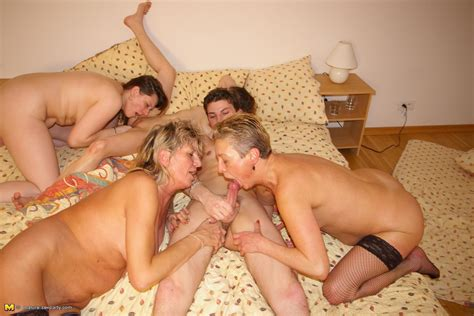 Its Party Time For These Mature Women