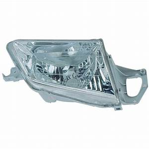 2000 Mazda Protege Headlight Assembly Right Passenger Side
