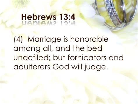 Marriage Bed Is Undefiled by Gods Blueprint For Marriage