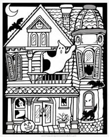 Free Printable Halloween Coloring Pages Adult