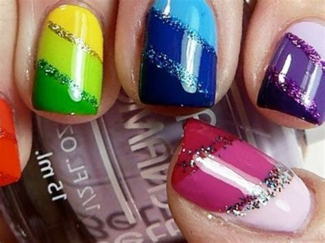 Multi Coloured Nail Designs Usefulresults