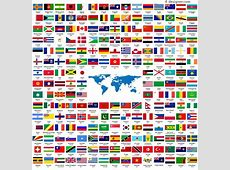 4Designer 210 countries around the world to collect flags