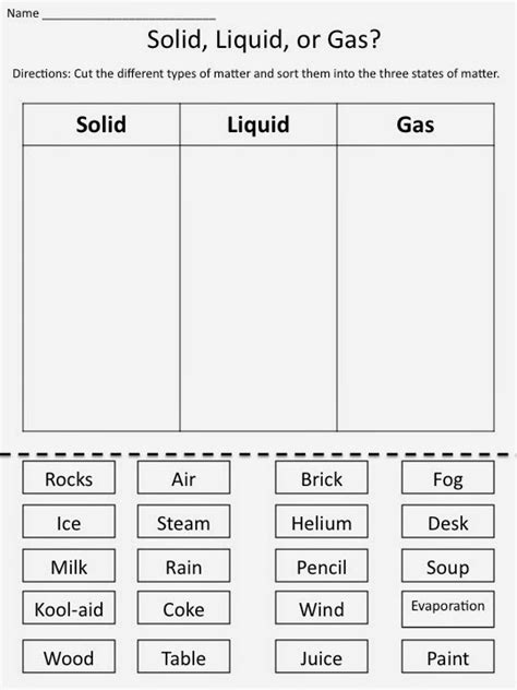 identifying states of gas matter worksheet this is nadin s page states of matter activity esl