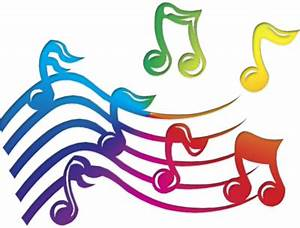 Coloured Music Notes - ClipArt Best