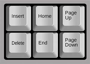 Page Up And Page Down Keys