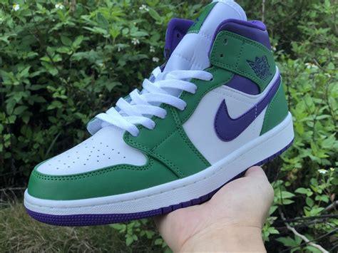 air jordan  mid hulk aloe verdecourt purple