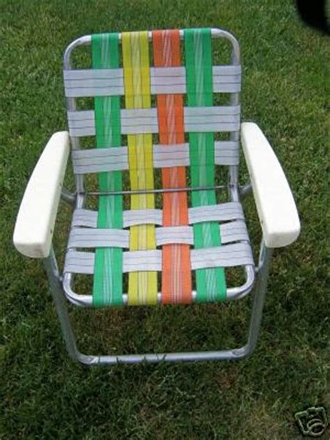 Webbed Lawn Chairs With Cup Holders by Retro Tavern