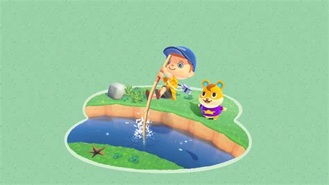 animal crossing  horizons water jump wallpaper cat