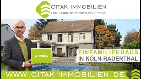 Immobilien Köln  Freistehendes Haus Mit Pool In Köln