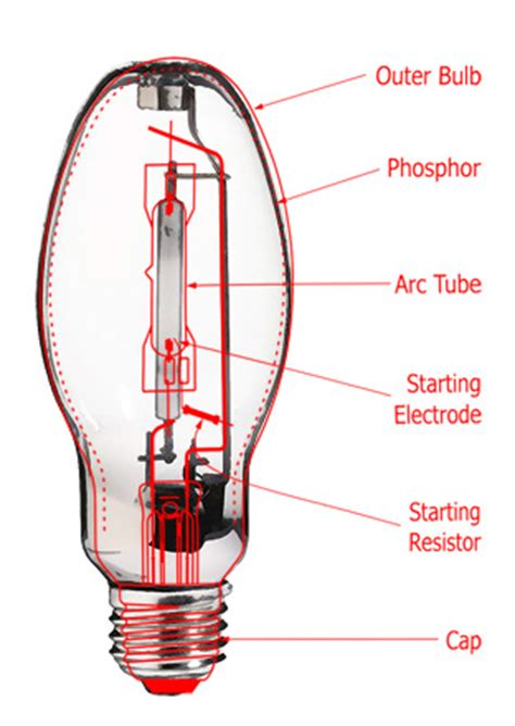 Hid Bulb Diagram by Light Bulbs High Intensity Discharge Ls Primelite