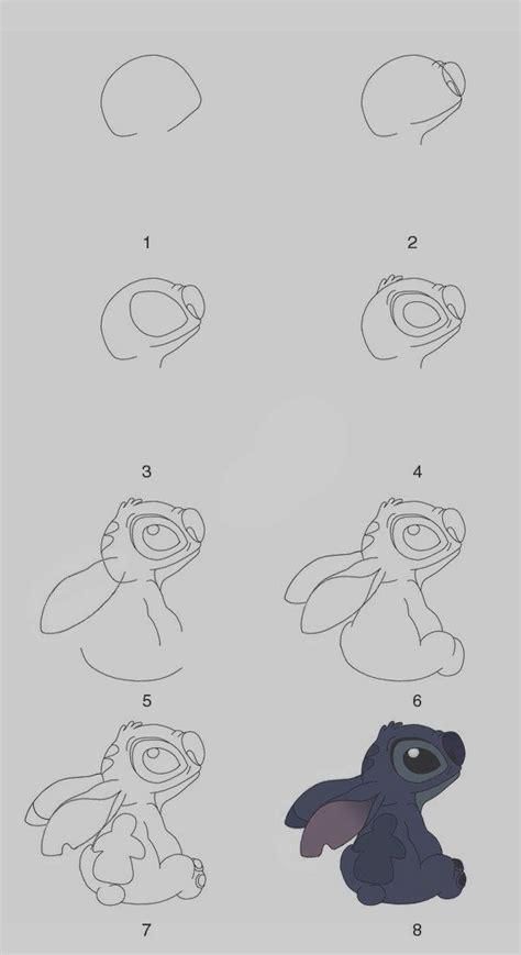 easy step  step art drawings  practice  disney