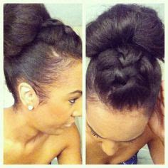 braided updo black hair pinterest hair dos wedding