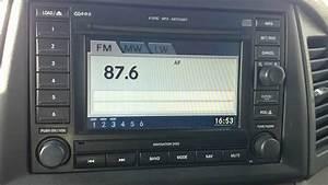 Jeep Grand Cherokee Wk 2005-10 Stereo Sat Nav Radio Navigation Disk