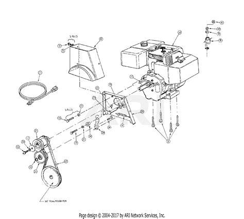 V Engine Diagram by Mtd 31ae993i401 2000 Parts Diagram For Engine V Belt
