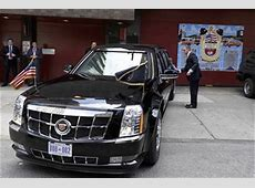 Presidential Limo, Stuck In Dublin Driveway Video