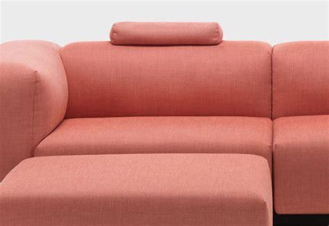soft modular  seat sofa designed  jasper morrison