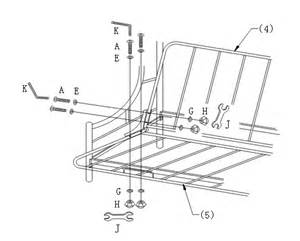 assembly instructions of quot c quot style futon bunk bed how to