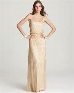 bloomingdales bridesmaid aidan mattox gown illusion tulle wedding dresses by aidan mattox loverly
