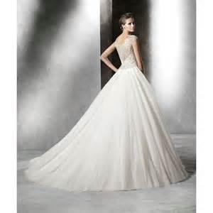 in wedding dress pronovias 2016 collection prismal wedding dress