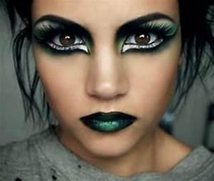 Make Up Ideen : halloween make up ideen bilder von hexen ~ Buech-reservation.com Haus und Dekorationen