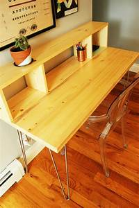 How, To, Build, A, Hairpin, Legs, Desk, With, Shelf