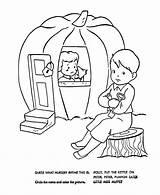 Nursery Rhymes Coloring Goose Mother Quiz Sheets Peter Bluebonkers Enregistree Depuis Pumpkin Eater Rime sketch template