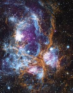 NGC 6357, where radiation from hot, young stars is ...