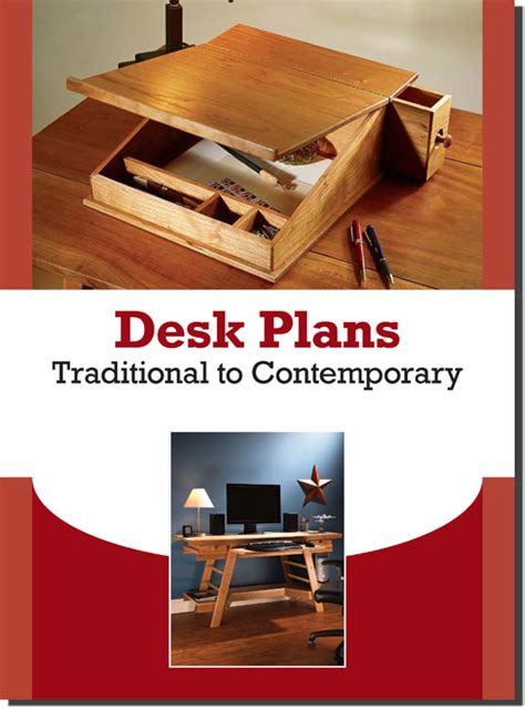 build  desk    popular woodworking
