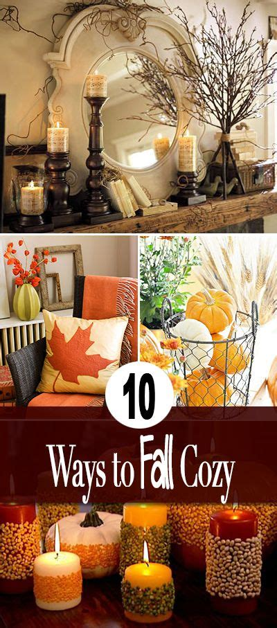 Fall Decorating  10 Ways To Make Your Home Fall Cozy