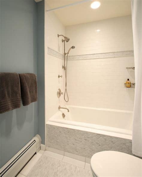 tile border around tub surround drop in shower ideas transitional bathroom olga adler interiors