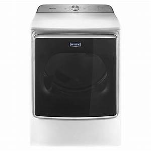 Maytag 9 2 Cu  Ft  120 Volt White Gas Vented Dryer With