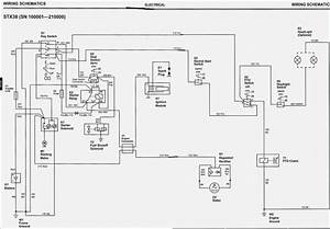 John Deere Stx38 Wiring Diagram  U2013 Vivresaville Com