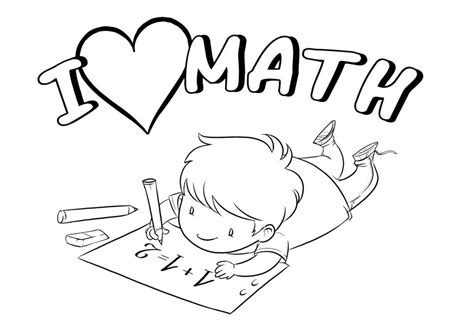 Free Printable Math Coloring Pages For Kids Best