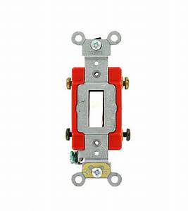 Commercial Electrical 20 Amp  Toggle Double