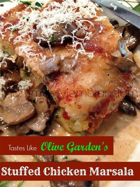 olive garden siegen copycat olive garden s stuffed chicken marsala recipe