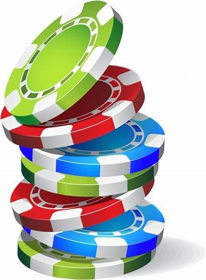 Chips Falling Casino Clipart Vector Chip Ai