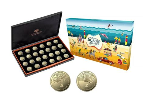 coins australia  great aussie coin hunt proof set  proof coin collection