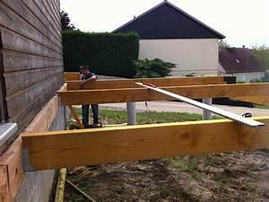terrasse sur pilotis recherche google exterieur With terrasse bois sur pilotis