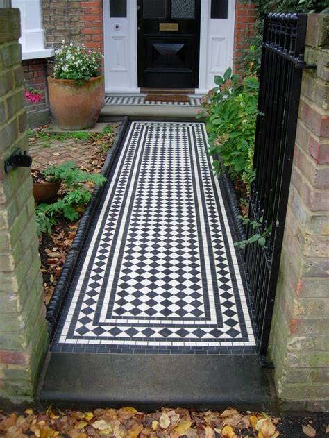 Porch Tiles by Blenstone Specialists Mosaics