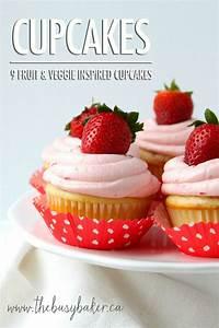 Cupcake Week: 9 Fruit and Veggie Inspired Cupcakes Food