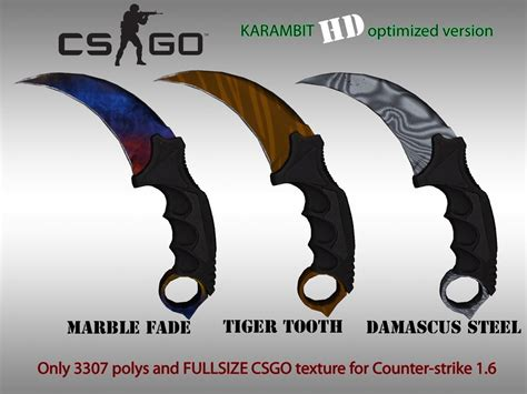 karambit cs skins go hd gamebanana csgo wips progress report