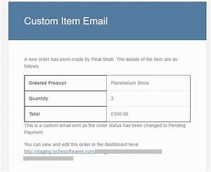 How to create custom email templates in woocommerce for Making an email template