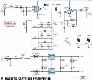 Moving Magnet  Mm  Riaa Phono Preamplifier Schematic
