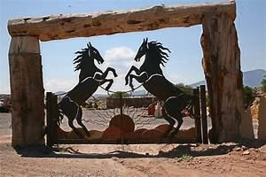 Entrance Gates - Albuquerque Custom Gates By Jose Varela